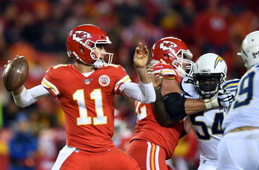 KANSAS CITY, MO - DECEMBER 16: Quarterback Alex Smith