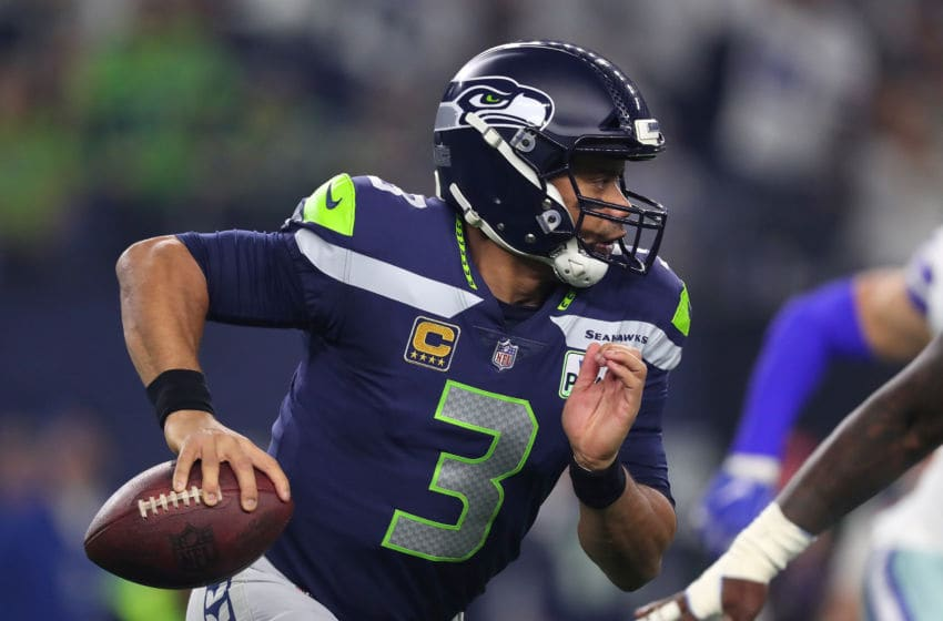 Russell Wilson #3 (Photo by Tom Pennington/Getty Images)