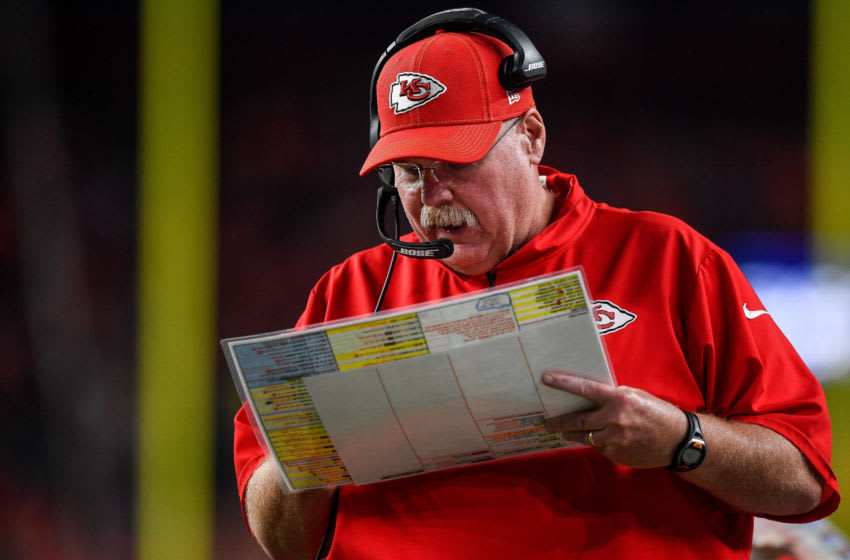 Head coach Andy Reid of the Kansas City Chiefs (Photo by Dustin Bradford/Getty Images)