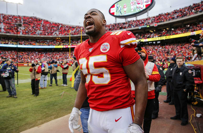 Chris Jones Kansas City Chiefs (Photo by David Eulitt/Getty Images)
