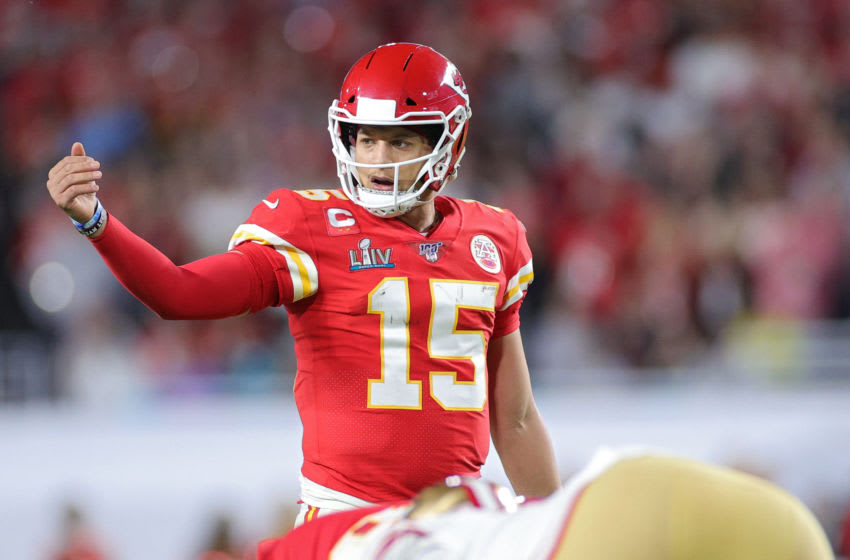 Patrick Mahomes #15 of the Kansas City Chiefs (Photo by Maddie Meyer/Getty Images)