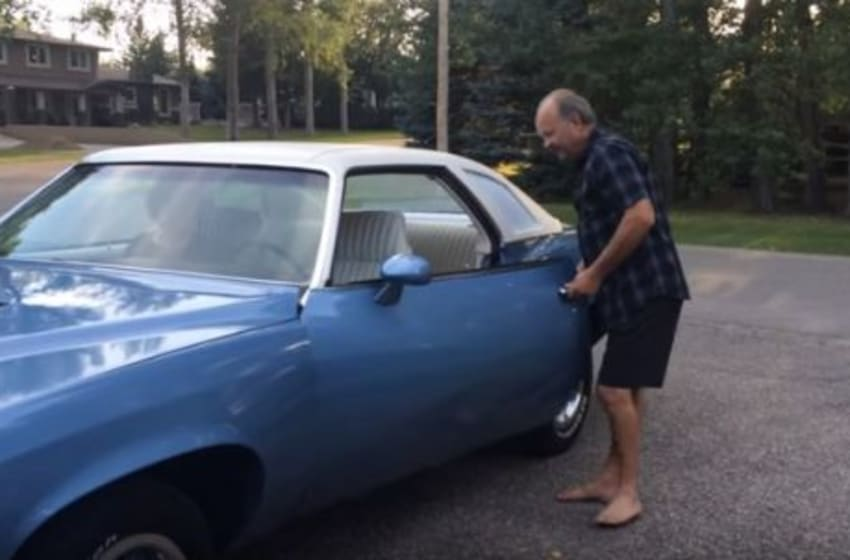 Kids Surprise Their Dad With His First Car A '73 LeMans