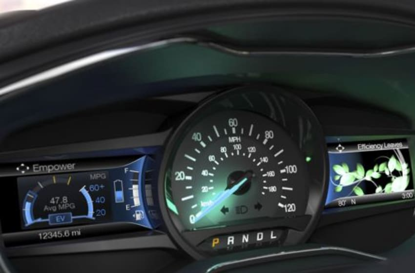 Photo Credit: 2016 Ford Fusion Cluster via Ford Motor Company