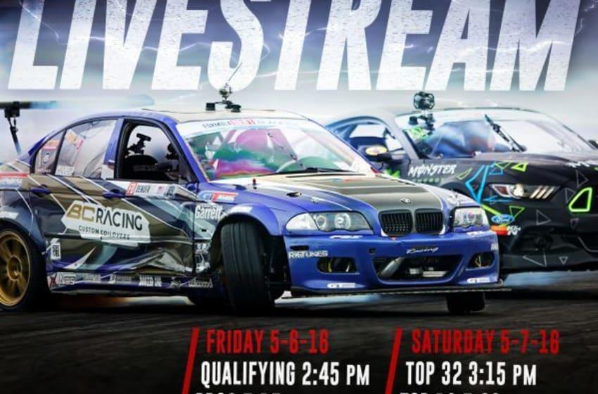 Formula Drift Live Stream (Photo YouTube)