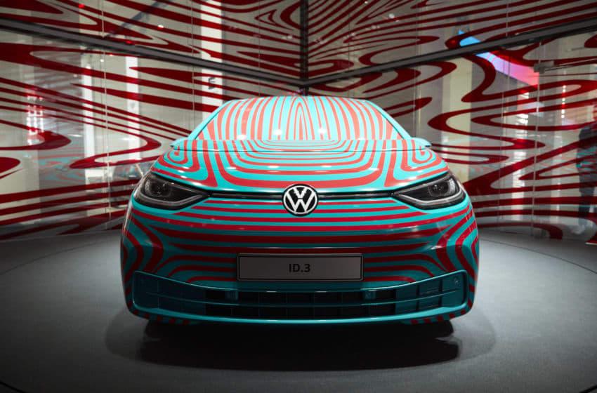 BERLIN, GERMANY - JUNE 06: The Volkswagen ID.3 is presented at the Volkswagen