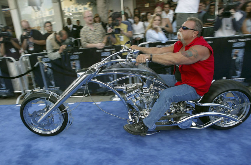 LOS ANGELES - JULY7: Motorcycle builder Paul Teutul, Sr. arrives at the premiere of 20th Century Fox's
