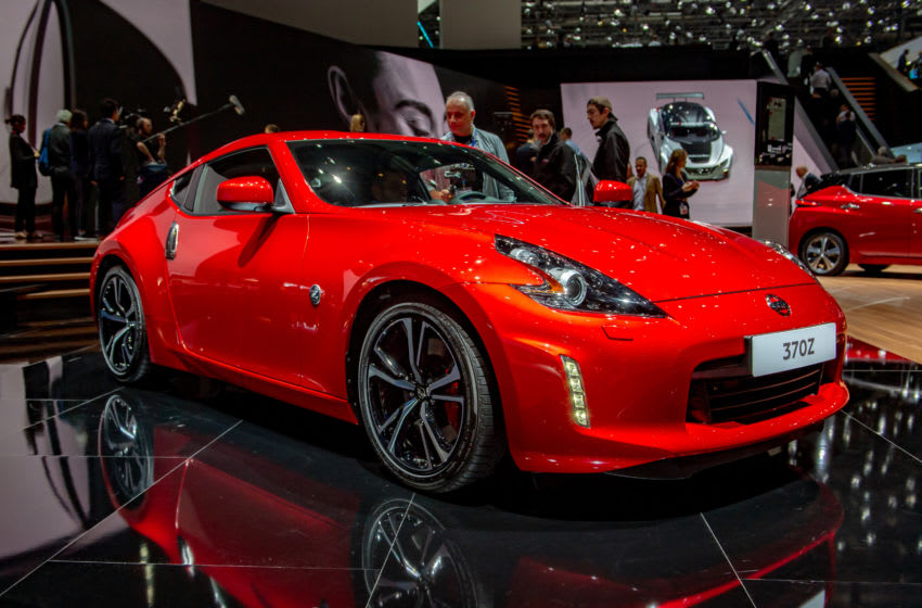 GENEVA, SWITZERLAND - MARCH 06: Nissan 370Z is displayed during the second press day at the 89th Geneva International Motor Show on March 6, 2019 in Geneva, Switzerland. (Photo by Robert Hradil/Getty Images)