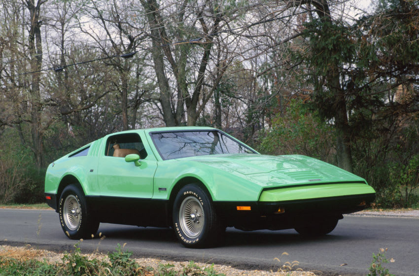 1975 Bricklin SV. Creator: Unknown. (Photo by National Motor Museum/Heritage Images via Getty Images)