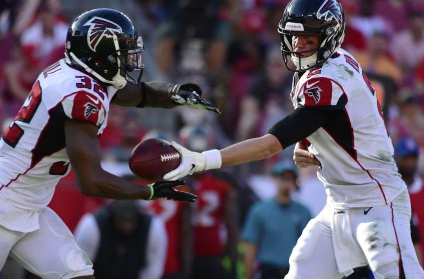 Atlanta Falcons, Matt Ryan, (Photo by Julio Aguilar/Getty Images)