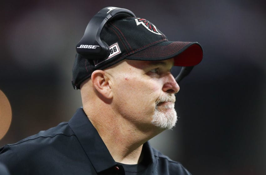 Atlanta Falcons, Dan Quinn (Photo by Todd Kirkland/Getty Images)