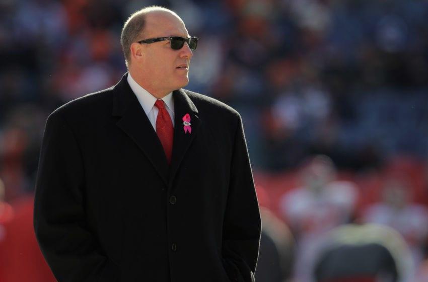 Atlanta Falcons, Scott Pioli (Photo by Doug Pensinger/Getty Images)