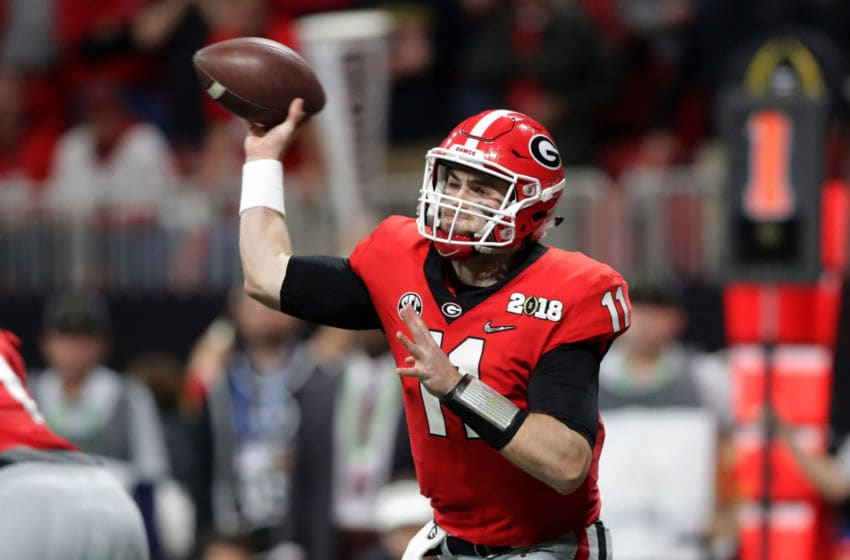 Georgia Football Jake Fromm (Photo by Streeter Lecka/Getty Images)