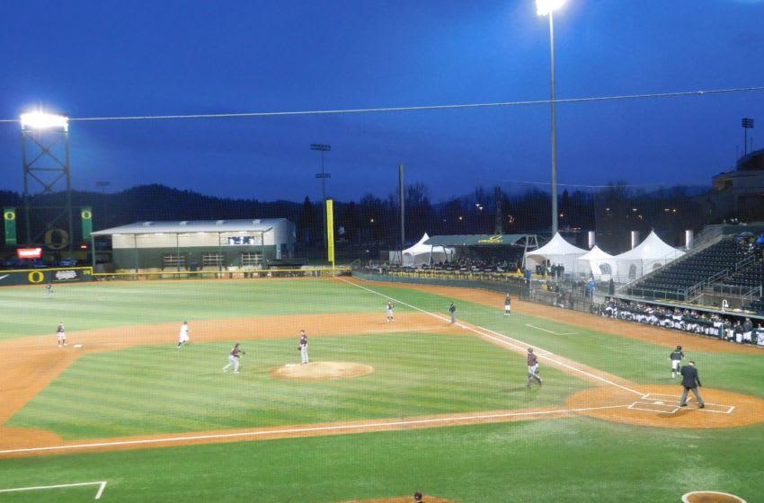 PK Park, Home of Oregon Ducks Baseball. Justin Phillips/KPNW Sports