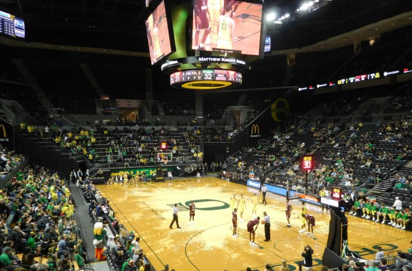 Oregon Ducks face Texas Southern at Matthew Knight Arena. Justin Phillips/KPNW Sports
