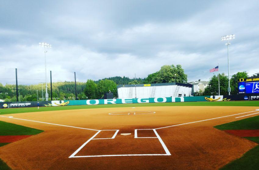 Jane Sanders Stadium, Home of Oregon Softball. Justin Phillips/KPNW Sports