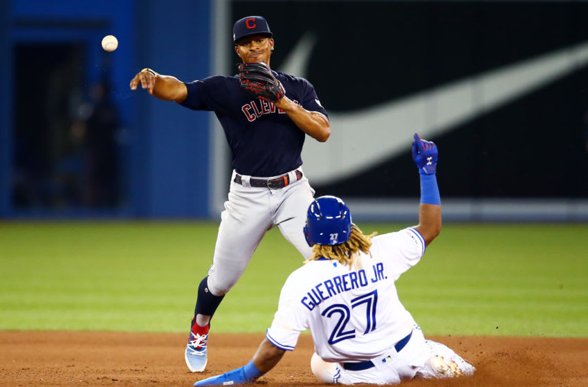 Francisco Lindor #12 of the Cleveland Indians (Photo by Vaughn Ridley/Getty Images)