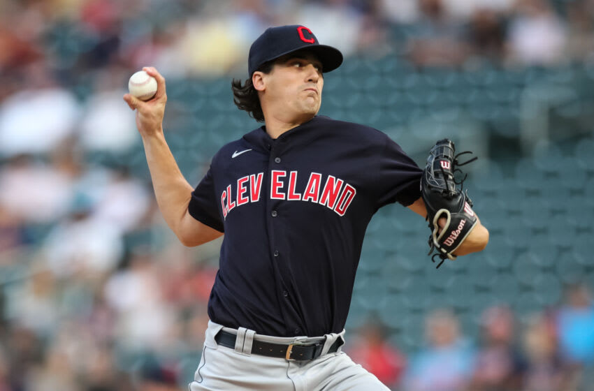 Cal Quantrill #47 of the Cleveland Indians / Cleveland Guardians (Photo by David Berding/Getty Images)