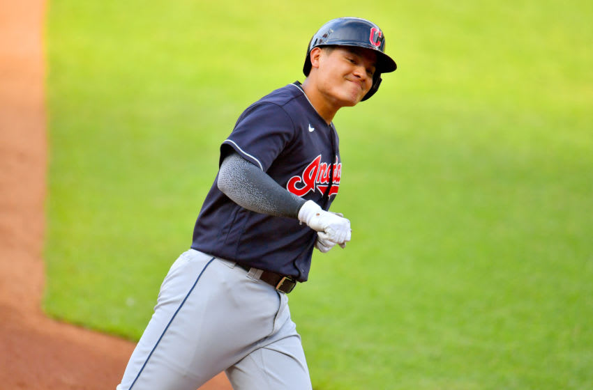 Yu Chang #2 of the Cleveland Indians (Photo by Jason Miller/Getty Images)