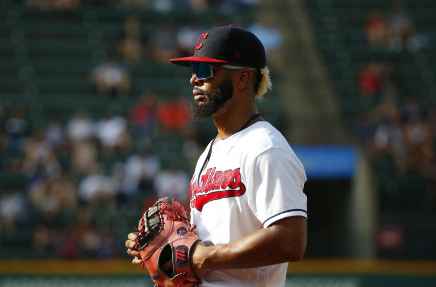 Bobby Bradley #44 of the Cleveland Indians / Cleveland Guardians (Photo by Justin K. Aller/Getty Images)