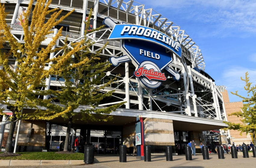 CLEVELAND, OH - NOVEMBER 02: A view of Progressive Field prior to Game Seven of the 2016 World Series between the Chicago Cubs and the Cleveland Indians on November 2, 2016 in Cleveland, Ohio. (Photo by Jason Miller/Getty Images)