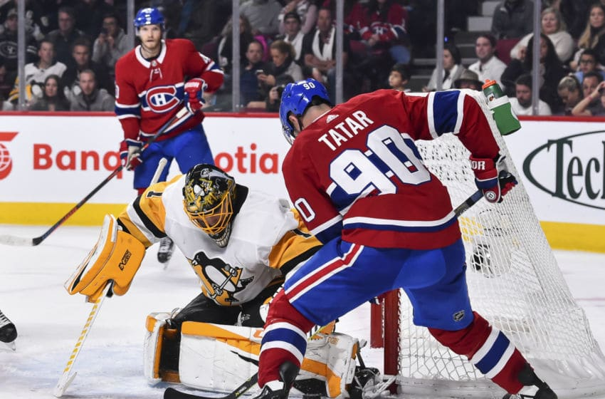 MONTREAL, QC - OCTOBER 13: Tomas Tatar #90 of the Montreal Canadiens. (Photo by Minas Panagiotakis/Getty Images)