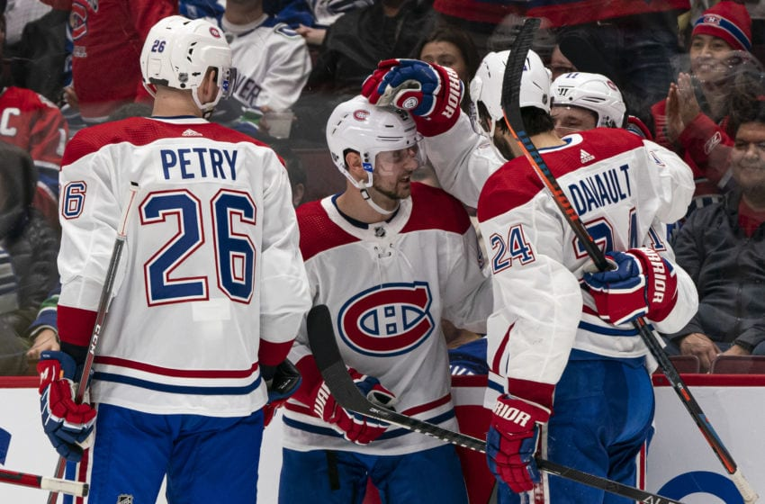 VANCOUVER, BC - DECEMBER 17: Montreal Canadiens. (Photo by Rich Lam/Getty Images)