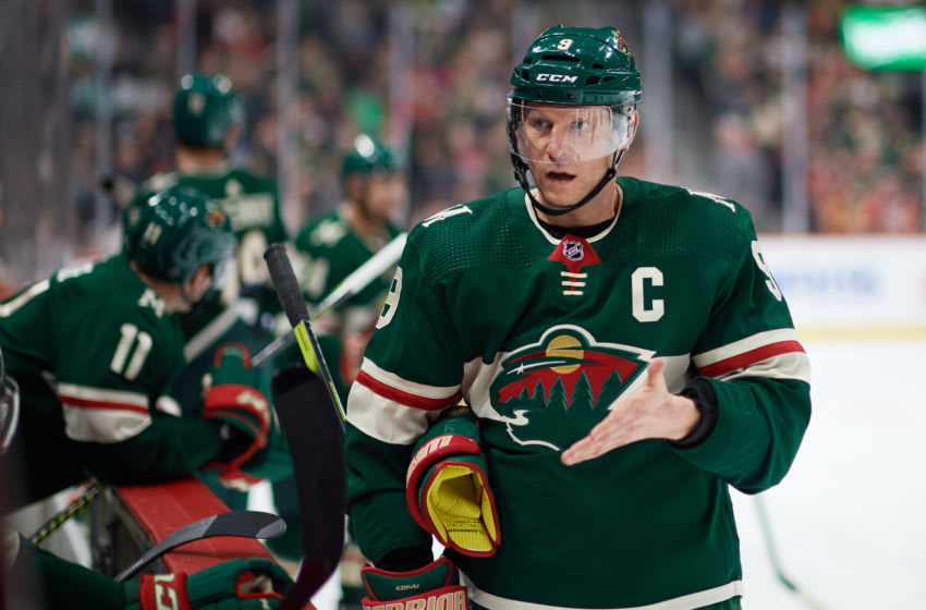 ST PAUL, MINNESOTA - JANUARY 05: Mikko Koivu #9. (Photo by Hannah Foslien/Getty Images)