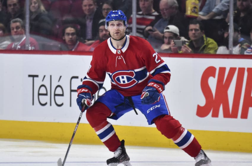 MONTREAL, QC - FEBRUARY 27: Karl Alzner #27 of the Montreal Canadiens (Photo by Minas Panagiotakis/Getty Images)