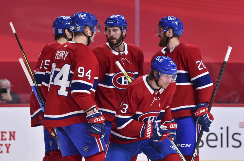 MONTREAL, QC - FEBRUARY 02: Tyler Toffoli Montreal Canadiens (Photo by Minas Panagiotakis/Getty Images)