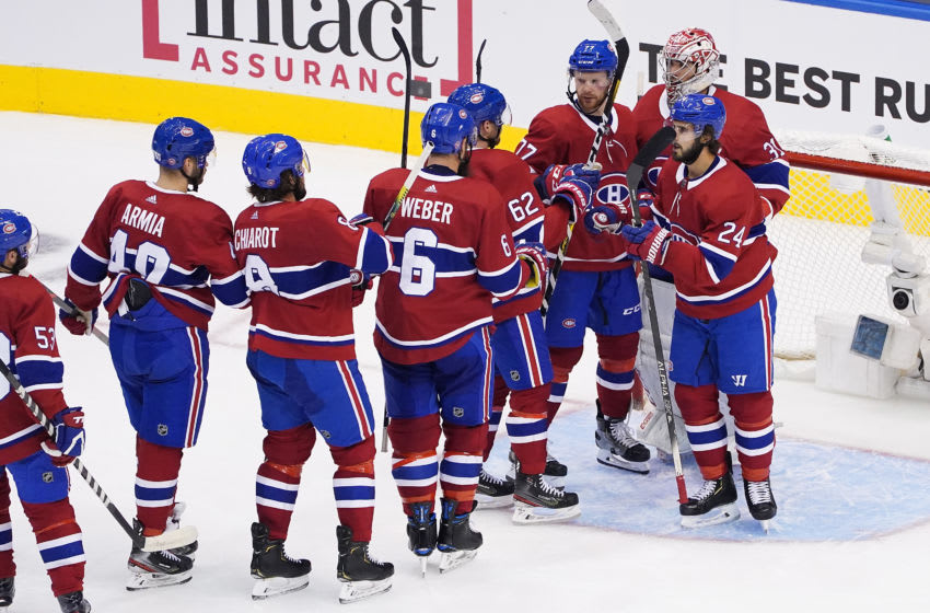 TORONTO, ONTARIO - AUGUST 05: Montreal Canadiens (Photo by Andre Ringuette/Freestyle Photo/Getty Images)