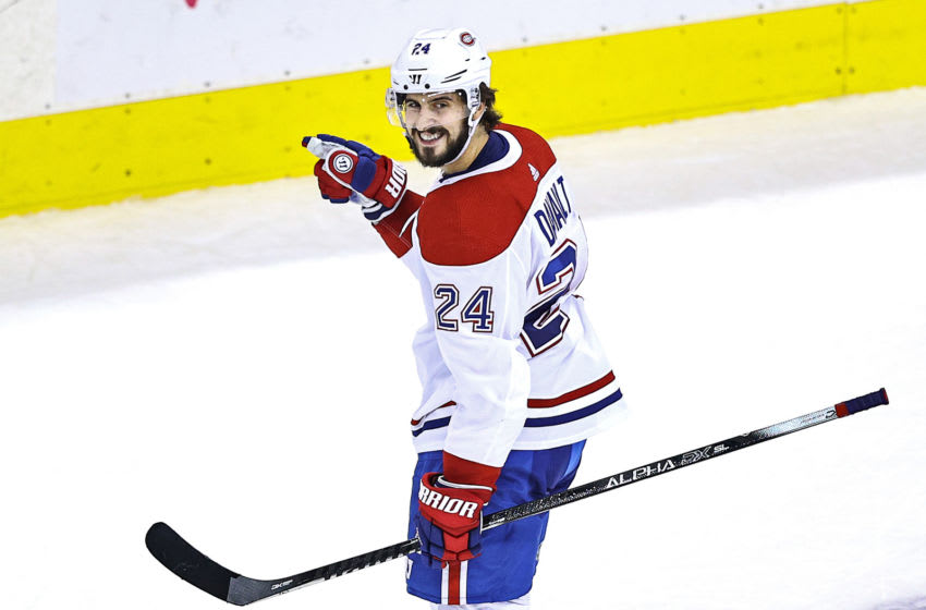 TORONTO, ONTARIO - AUGUST 19: Phillip Danault #24 of the Montreal Canadiens. (Photo by Elsa/Getty Images)