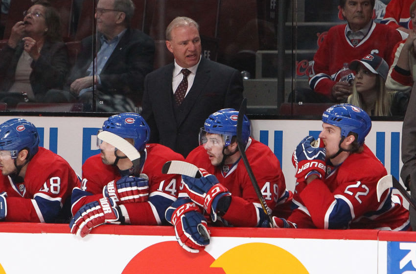 MONTREAL, QC - MAY 6: Michel Therrien of the Montreal Canadiens. (Photo by Francois Laplante/Freestyle Photography/Getty Images)