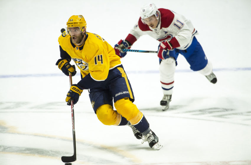 NASHVILLE, TN - NOVEMBER 22: Montreal Canadiens (Photo by Ronald C. Modra/NHL/Getty Images)