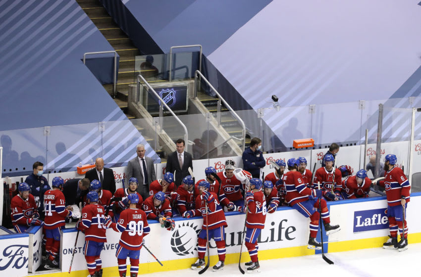 TORONTO, ONTARIO - JULY 28: The Montreal Canadiens. (Photo by Andre Ringuette/Freestyle Photo/Getty Images)