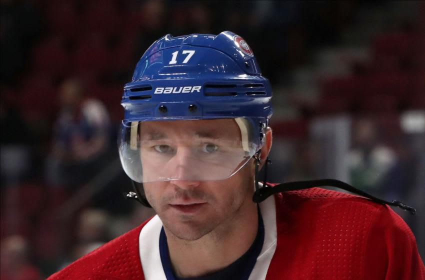 Feb 15, 2020; Montreal, Quebec, CAN; Montreal Canadiens Ilya Kovalchuk Mandatory Credit: Jean-Yves Ahern-USA TODAY Sports