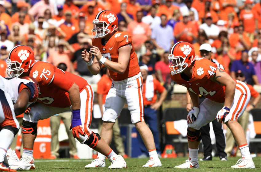 Duke football graduate transfer Chase Brice (Photo by Mike Comer/Getty Images)