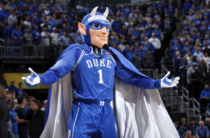 Duke basketball mascot (Photo by Joe Robbins/Getty Images)