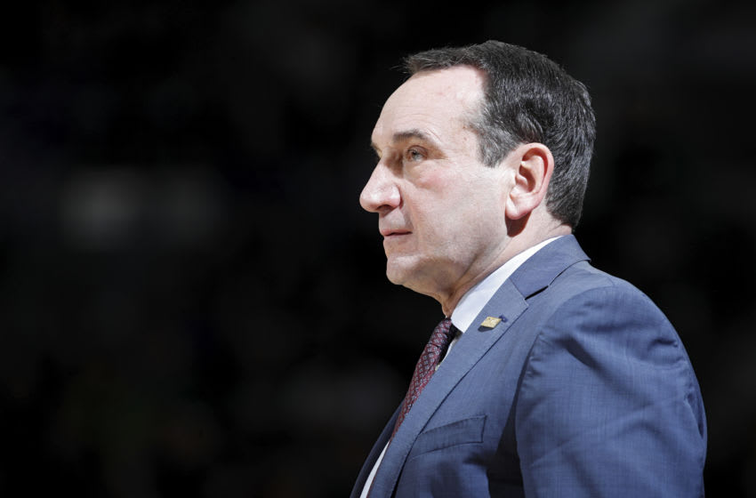 Duke basketball head coach Mike Krzyzewski (Photo by Joe Robbins/Getty Images)