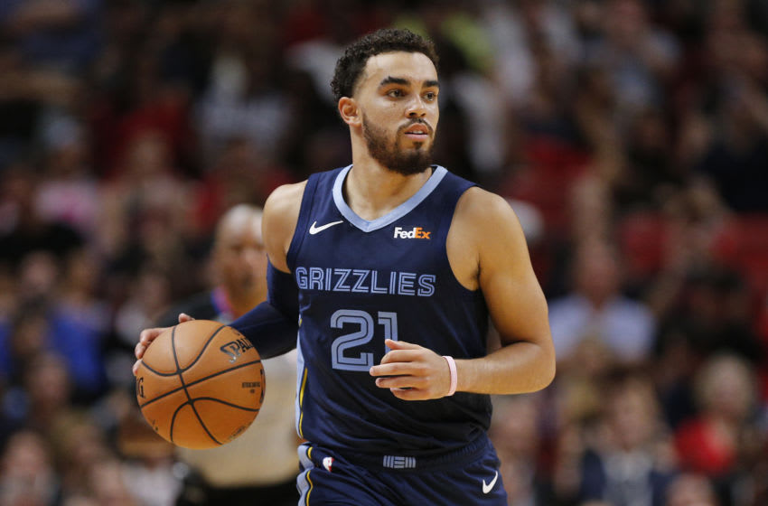 Former Duke basketball guard Tyus Jones (Photo by Michael Reaves/Getty Images)