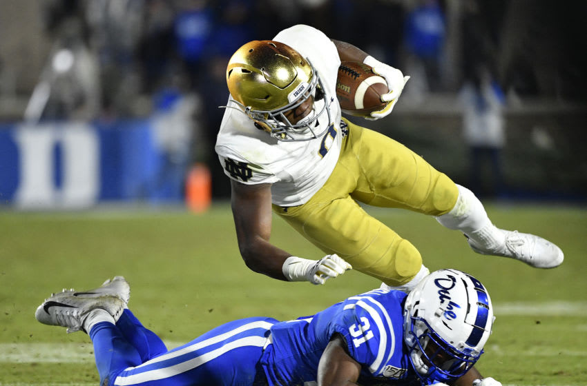 Duke football plays Notre Dame. (Photo by Grant Halverson/Getty Images)