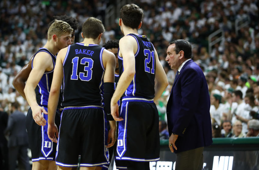 Duke basketball (Photo by Gregory Shamus/Getty Images)