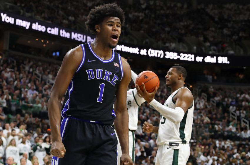 Duke basketball freshman center Vernon Carey Jr. (Photo by Gregory Shamus/Getty Images)