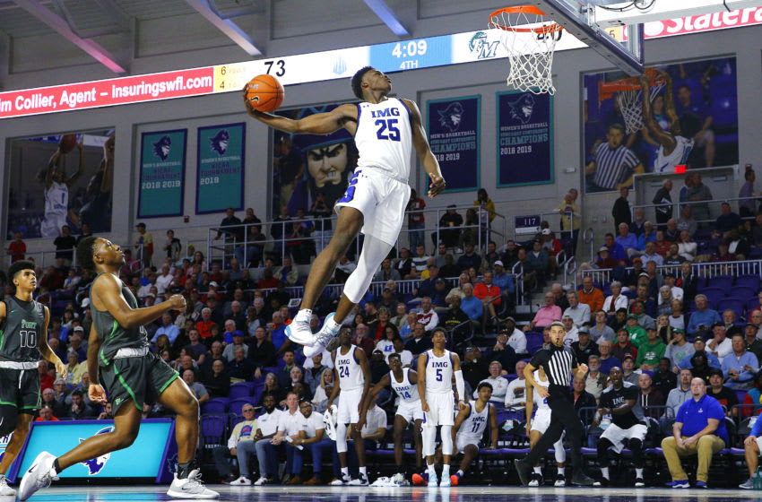 IMG forward Jarace Walker is requesting Duke basketball attention (Photo by Michael Reaves/Getty Images)