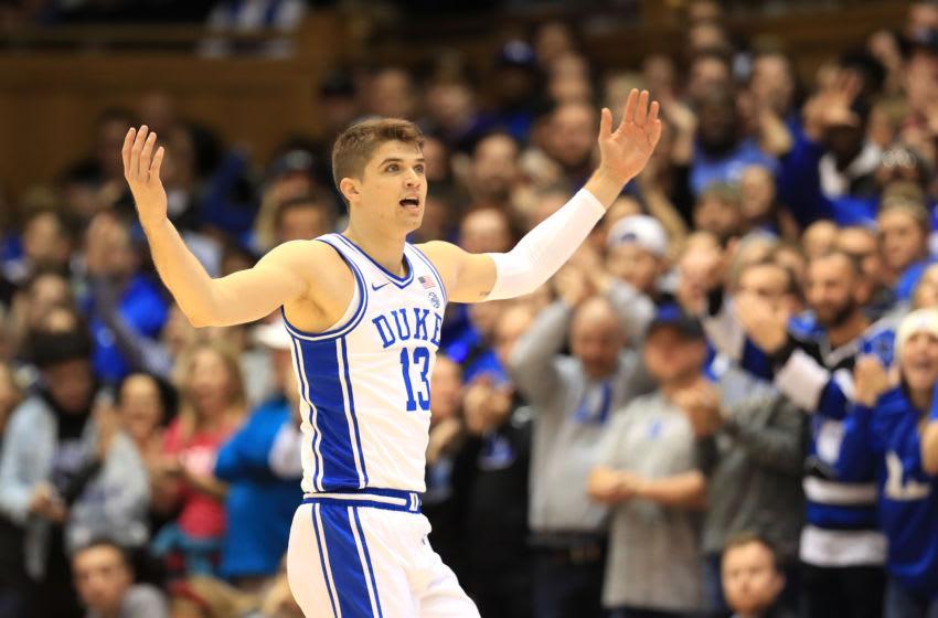Duke basketball forward Joey Baker (Photo by Streeter Lecka/Getty Images)