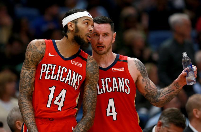 Duke basketball stars Brandon Ingram and JJ Redick (Photo by Sean Gardner/Getty Images)