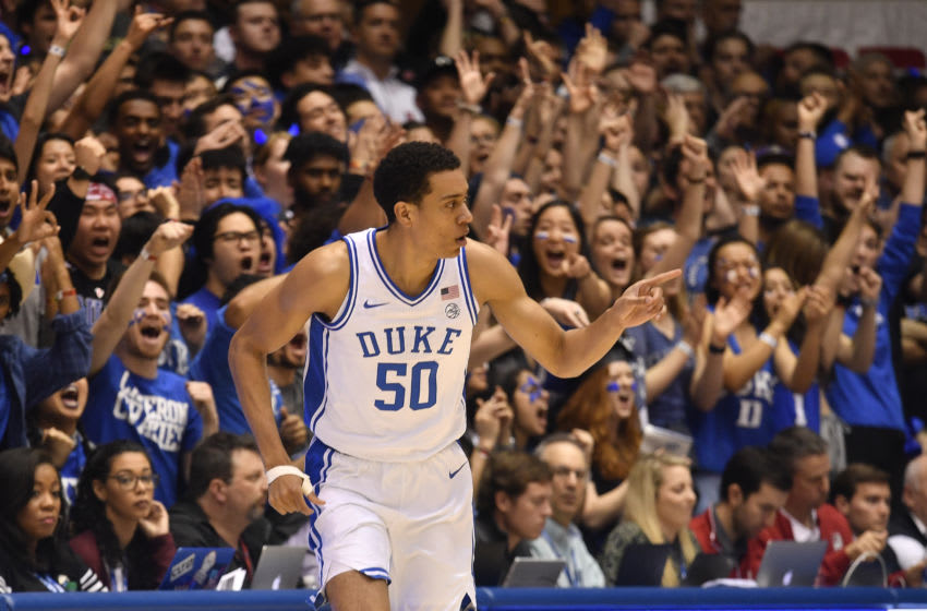 Justin Robinson of the Duke basketball team (Photo by Grant Halverson/Getty Images)