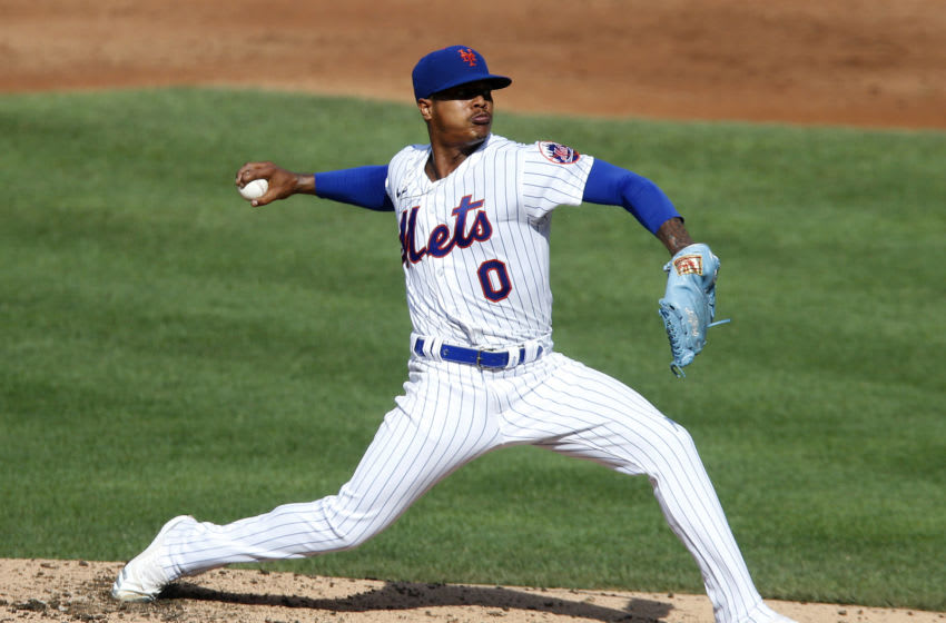 Former Duke baseball pitcher Marcus Stroman pitches for the New York Mets. (Photo by Jim McIsaac/Getty Images)