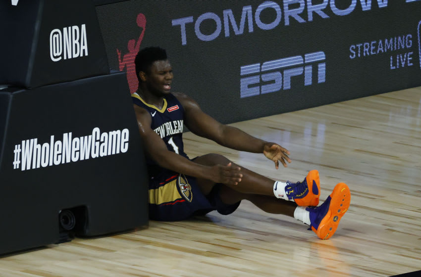 Duke basketball alum Zion Williamson (Photo by Kevin C. Cox/Getty Images)