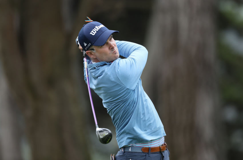 Former Duke golf standout Kevin Streelman takes a shot at the PGA Championship. (Photo by Jamie Squire/Getty Images)
