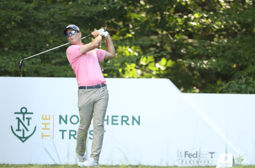 Former Duke golf standout Kevin Streelman at The Northern Trust. (Photo by Maddie Meyer/Getty Images)